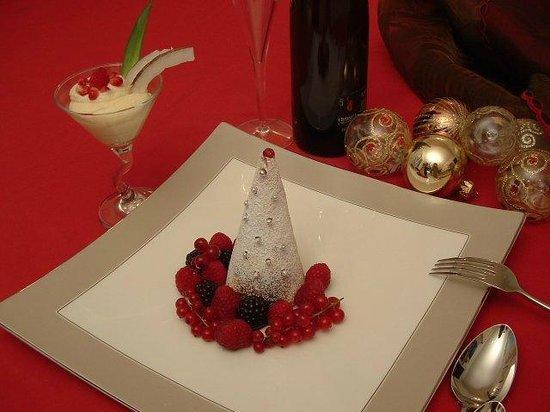Planet Cafe: Albero di Natale al mascarpone e frutti di bosco