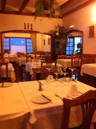 Los Hervideros Restaurant : Los Hervidos interior