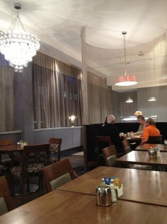 Jurys Inn Birmingham: breakfast area