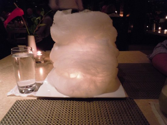 Koa Kea Hotel & Resort:                   Cotton candy cloud at Red Salt for our 9th anniverary!