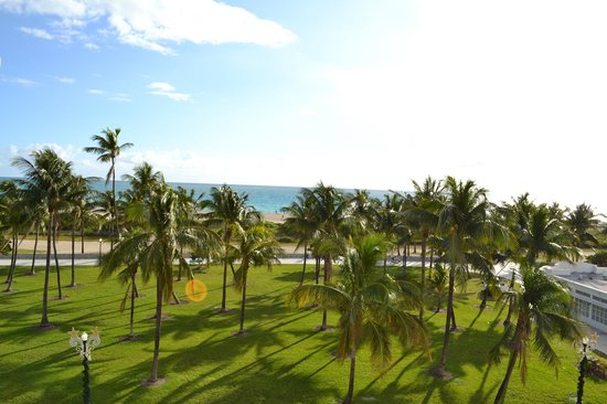 Marriott Vacation Club Pulse, South Beach: Vista desde la terraza del hotel