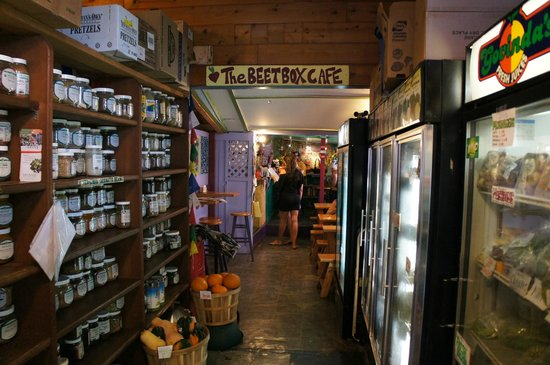 Beet Box Cafe: 入り口