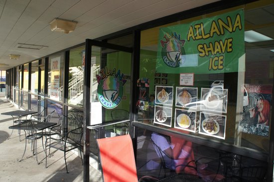 Ailana Shave Ice & Cafe: お店外観