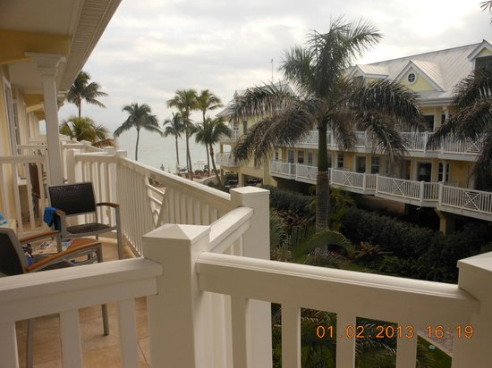 Southernmost Beach Resort:                   view from balcony Building A