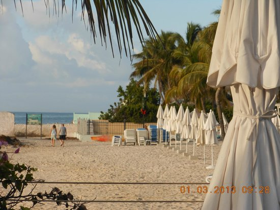 Southernmost Beach Resort:                   Public beach next to pool