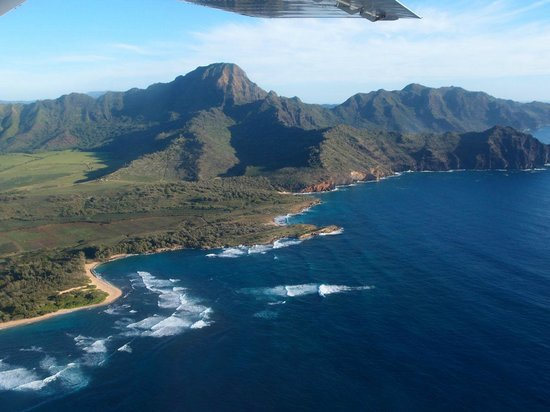 Best of Kauai Tour : Kaua'i from the air on our tour