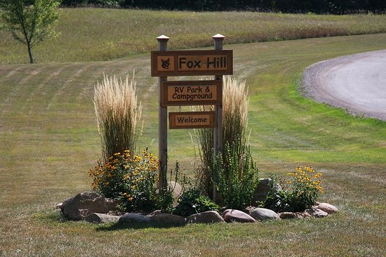 Fox Hill RV Park & Campground: Fox Hill RV Park Entrance