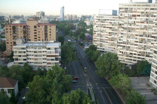 Ibis Santiago Providencia:                   Visão da suite