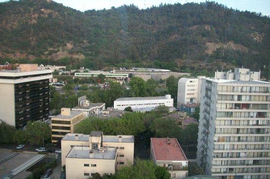 Ibis Santiago Providencia:                   Vista do apartamento