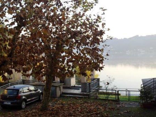 """Hotel Chalet del Lago """"La Libellula"""": uno scorcio"""