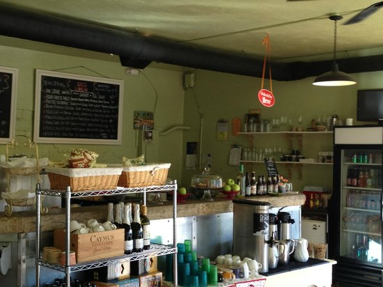 Happy Gillis Cafe & Hangout:                   The Kitchen & where you order