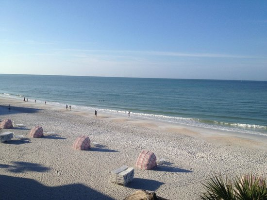 Sandcastle Resort at Lido Beach: View from our balcony