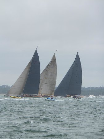 SS Shieldhall: Class J racing yachts from the Shieldhall