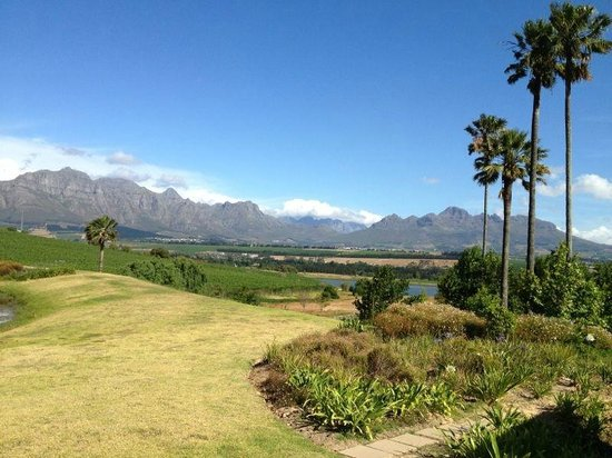Asara Wine Estate & Hotel:                   View from the pool