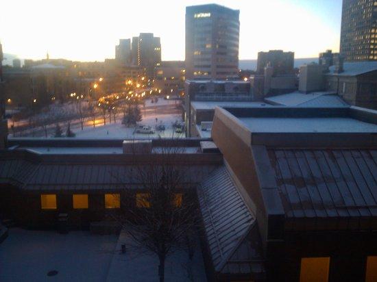 Les Suites Hotel Ottawa:                   View