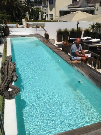 Dysart Boutique Hotel:                   nice small swimmingpool !