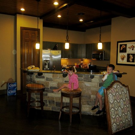 Wyndham Vacation Resorts Glacier Canyon:                   The kitchen