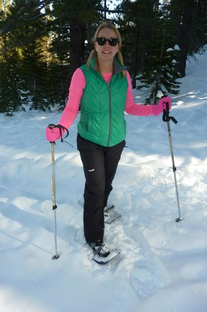 The Ridge Tahoe: snowshoeing is included