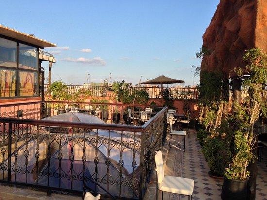 Riad Hamdane et SPA :                   Rooftop Terrace