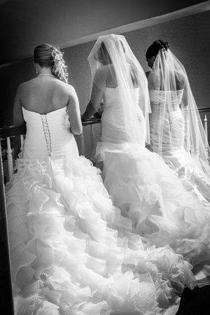 Comfort Suites : 3 brides overlooking balcony