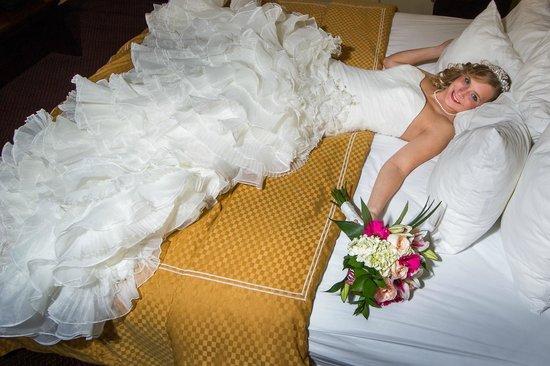Comfort Suites : honeymoon suite