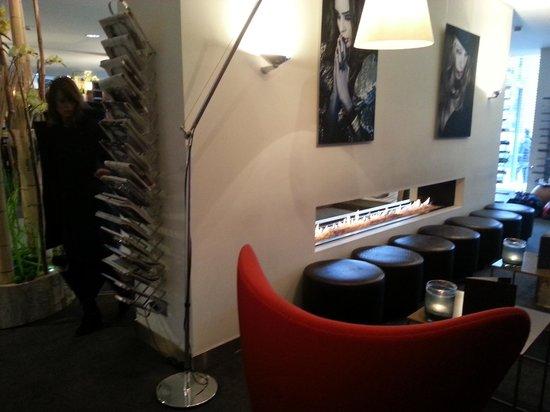 Park Hotel Amsterdam:                   Foyer