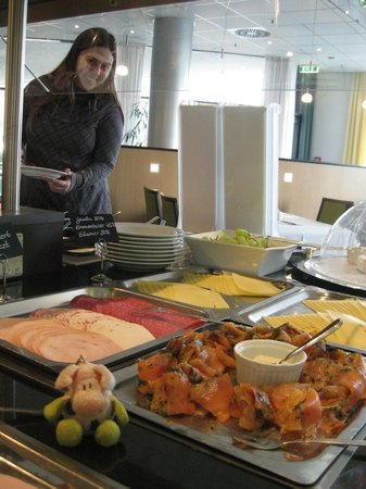 Mercure Hotel Frankfurt Eschborn Süd: The breakfast