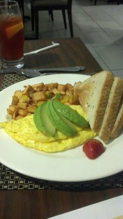 Holiday Inn Oceanside Camp Pendleton Area: California Omelet at Hotel Lobby Restaurant