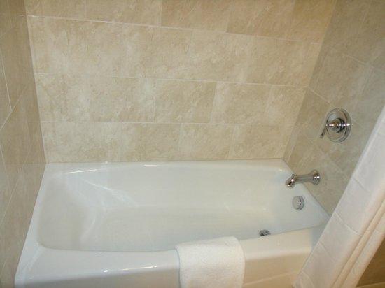 بوشكيل إن آند كونفرانس سنتر: Queen Suite Bathtub (nothing fancy, but it works!)