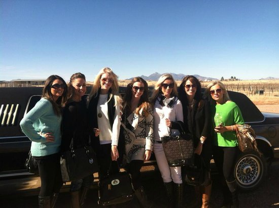 Sonoita Limo: Best Ladies Winery Tour!