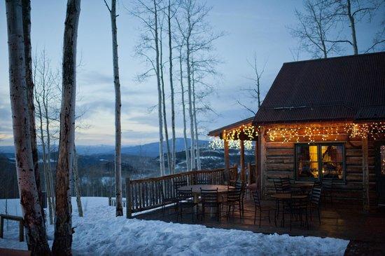 Lynn britt cabin aspen restaurant reviews phone number for Cabine colorado aspen