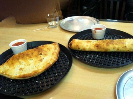 Romeo's Pizza: Romeo Calzone & Romeo Stromboli