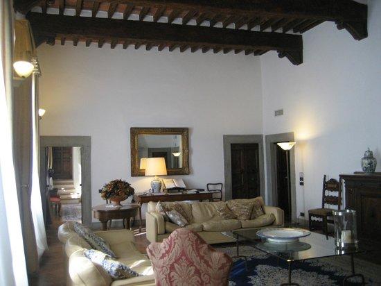 Hotel Palazzo Squarcialupi: Sitting Room
