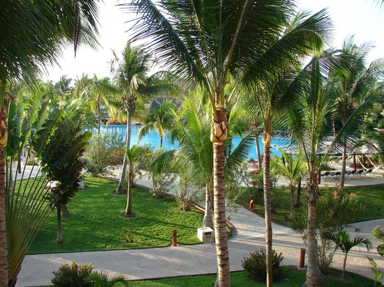 Barcelo Maya Beach:                   View from room
