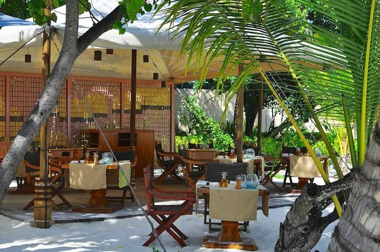 Constance Moofushi: lunch time restaurant