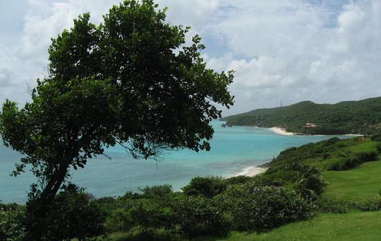 Canouan Resort at Carenage Bay - The Grenadines:                   View from the golf course