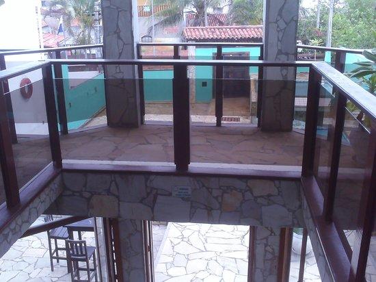 Pousada Mar de Geriba:                   área do hotel