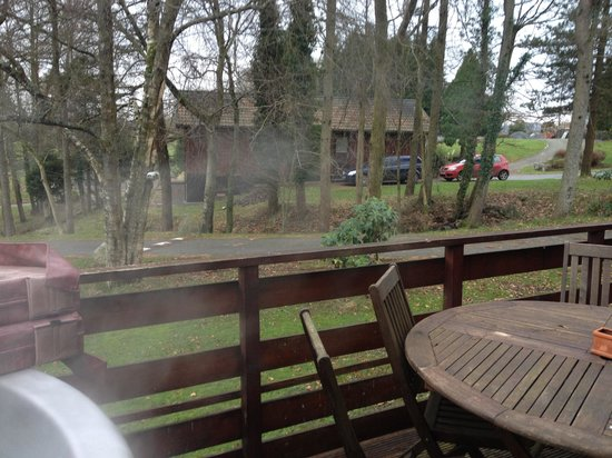 Conifers Leisure Park :                   Decking Views