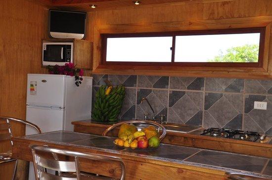 Cabanas Tokerau: Cocina equipada