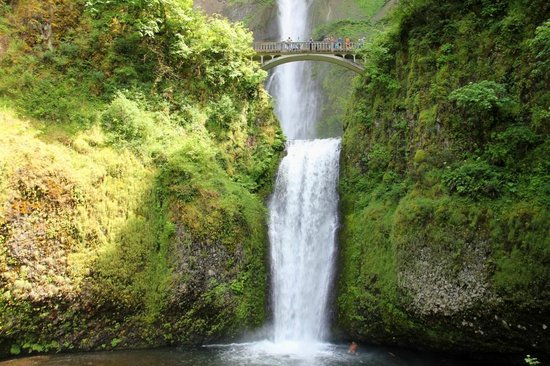 Bridal Veil, OR: Multnomah Falls in Oregon