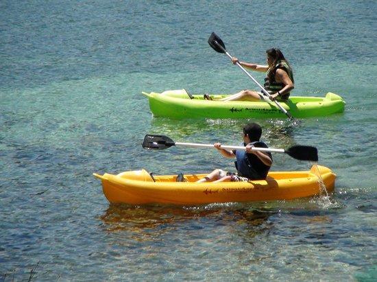 Cabanas Puerto Pireo: Lago