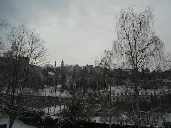 Youth Hostel Luxembourg City: My Room View