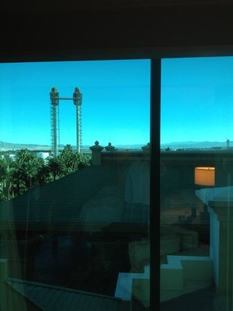 Mandalay Bay Resort & Casino:                   our view sucks