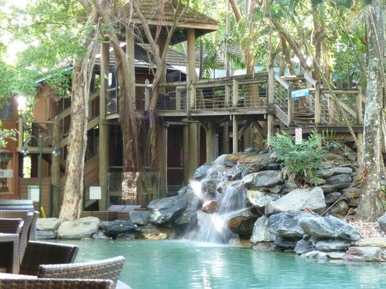 Ramada Resort Port Douglas:                   waterfall end of pool