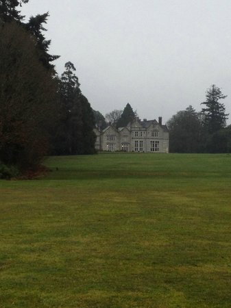 Lough Rynn Castle Estate & Gardens:                   View from a far