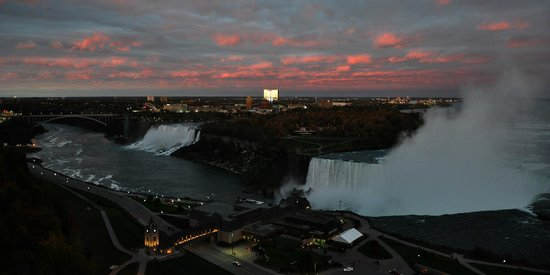 Marriott Niagara Falls Fallsview Hotel & Spa: View from Our Room, Niagara Falls Marriott Fallsview Hotel, Canada