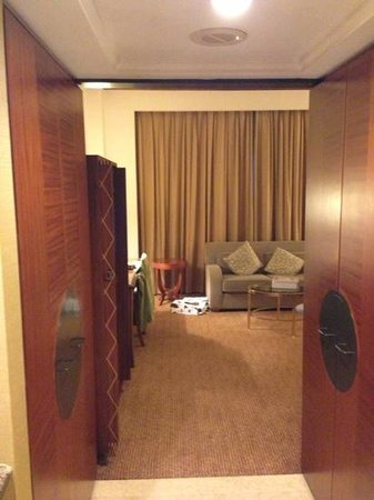 Mandarin Orchard Singapore:                   entrance to my room.