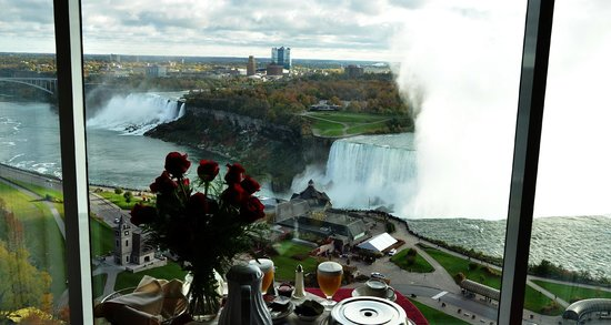 ‪‪Niagara Falls Marriott Fallsview Hotel & Spa‬: View from Our Room, Niagara Falls Marriott Fallsview Hotel, Canada‬
