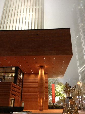 Bechtler Museum of Modern Art:                   Outside of Building