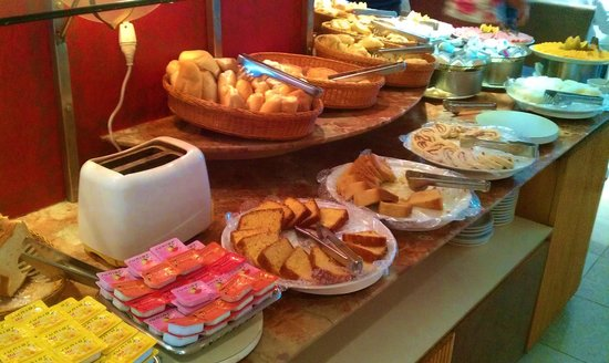 Mirasol Copacabana Hotel:                   The food is the Breakfast Buffet